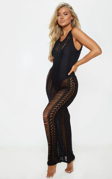 Special Offer - 40% off This Black Maxi Dress