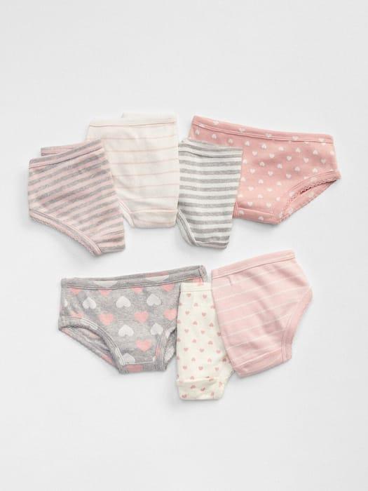 CHEAP! babyGap Hearts & Stripes Bikini Briefs (7-Pack) Color: Multi