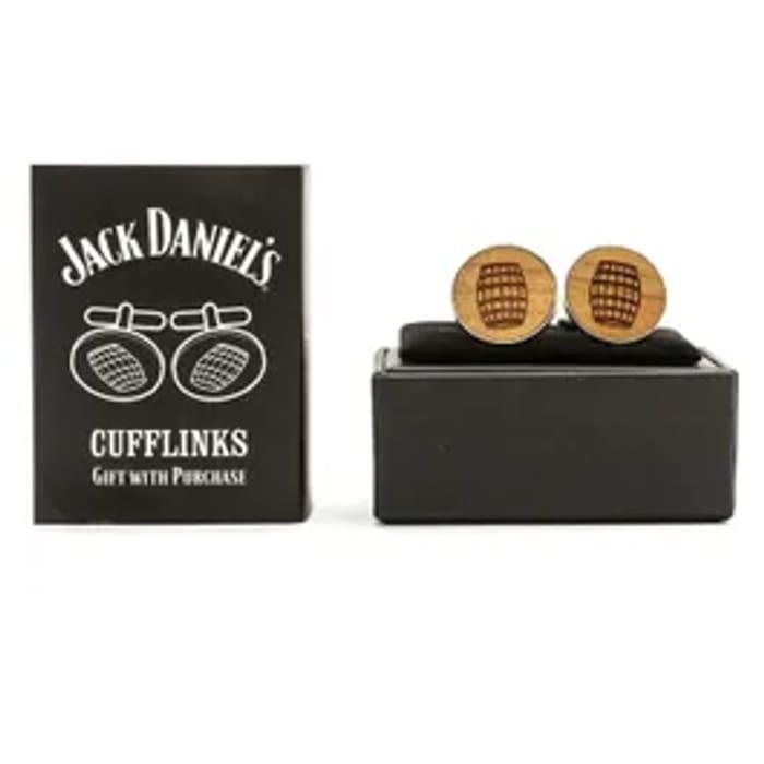 **Ideal Fathers Day Gift** - Jack Daniels Cufflinks