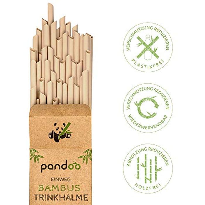 50 Plastic Free Bamboo Straws