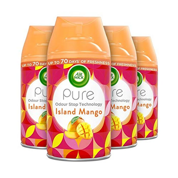 AirWick Freshmatic, Island Mango Air Freshener, 250 Ml Refill 4x