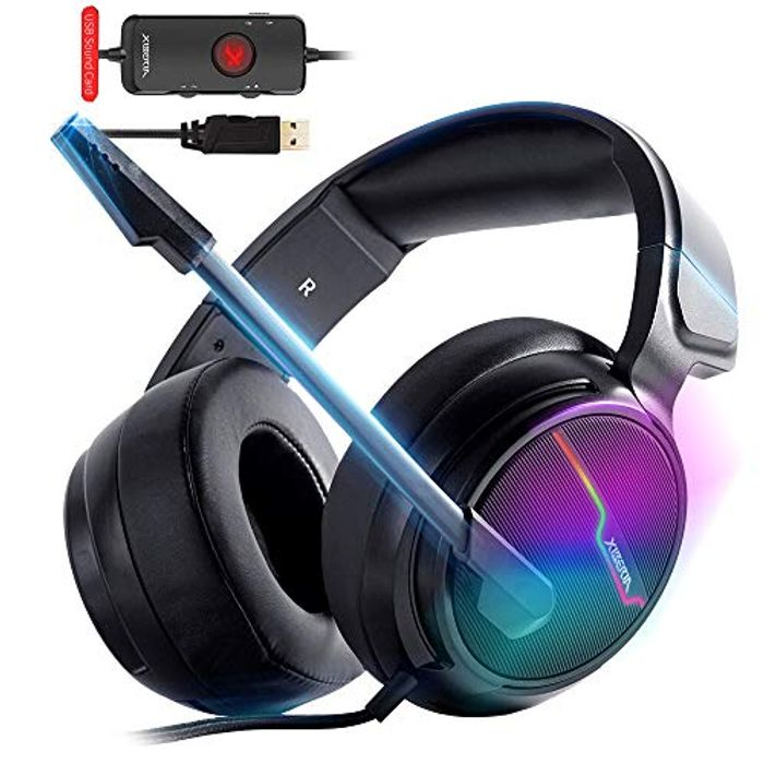 XIBERIA-V20 USB PS4 Headset for Host Connection, 7.1