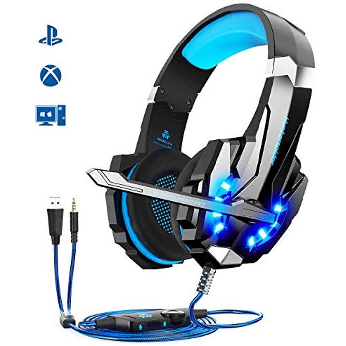 Igrome Gaming Headsets Noise Canceling Mic & Volume Control