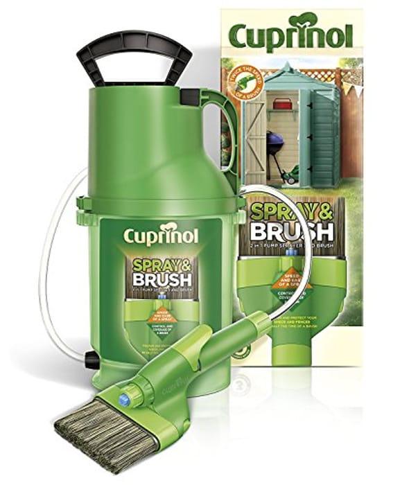 Cuprinol 2 in 1 Brush and Spray - Save £15