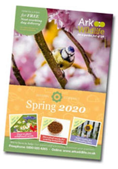 Request a Garden Wildlife Catalogue
