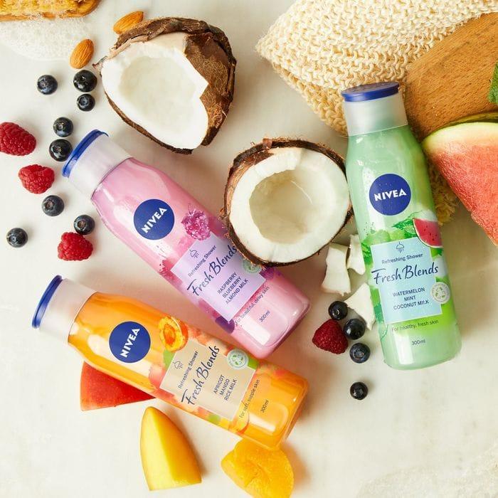 Free NIVEA Fresh Blends Shower Creams - Home Tester Club
