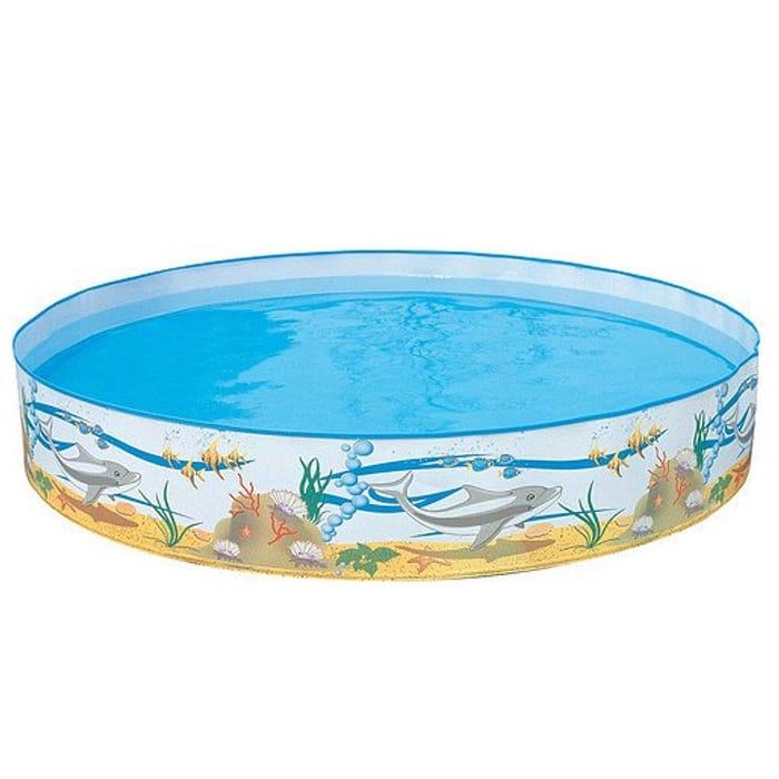 Cheap 5ft Paddling Pool - Bestway Ocean Life Fill-N-Fun - Only £10!