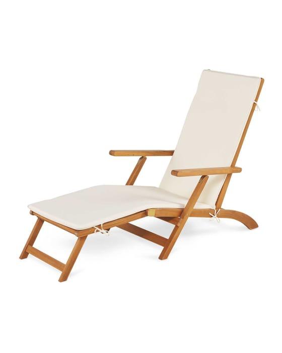 Cheap Gardenline Wooden Sun Lounger - Only £54.99!