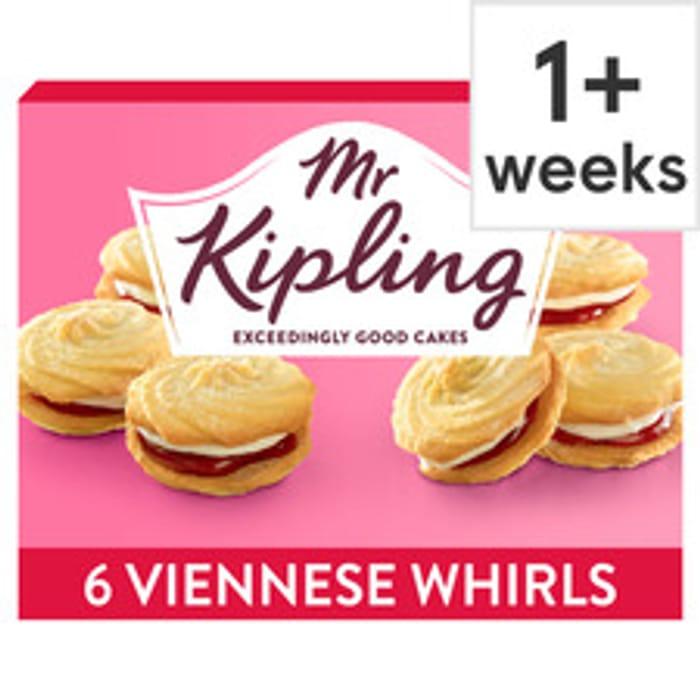 Mr Kipling Viennese Whirls 6 Pack