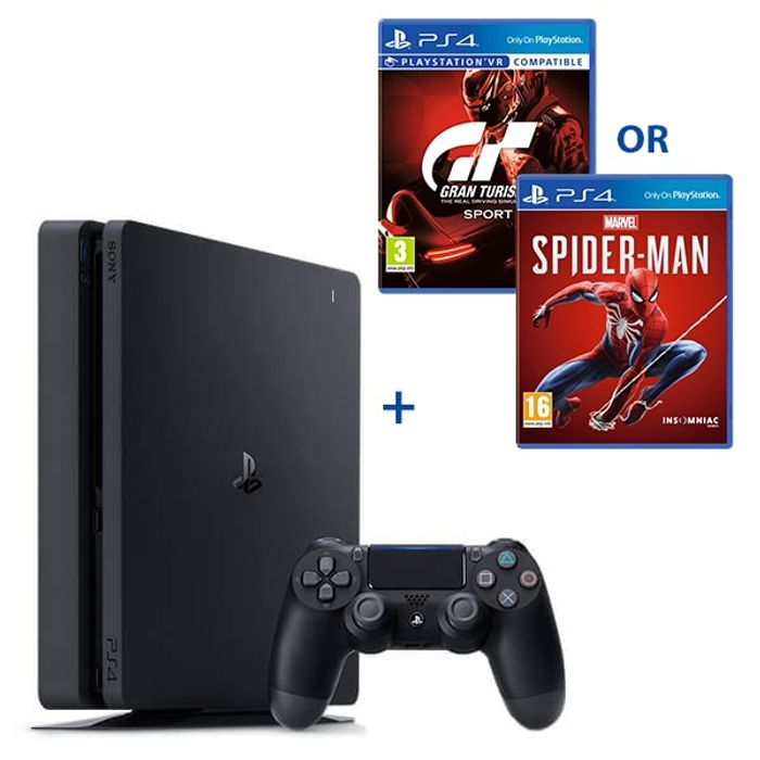 PS4 500GB Black Console & Select Game Only £249.99