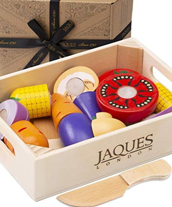 Jaques of London Lets Pretend Play Food - Perfect Wooden Play Food Sets
