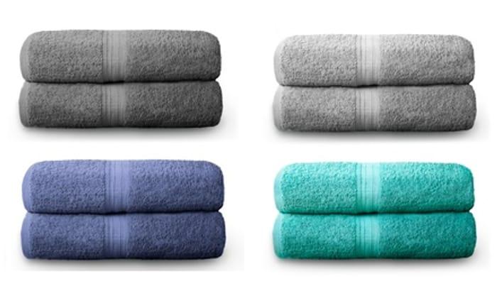500gsm Hotel Grade Bath Sheets 2 for £11.97 Delivered