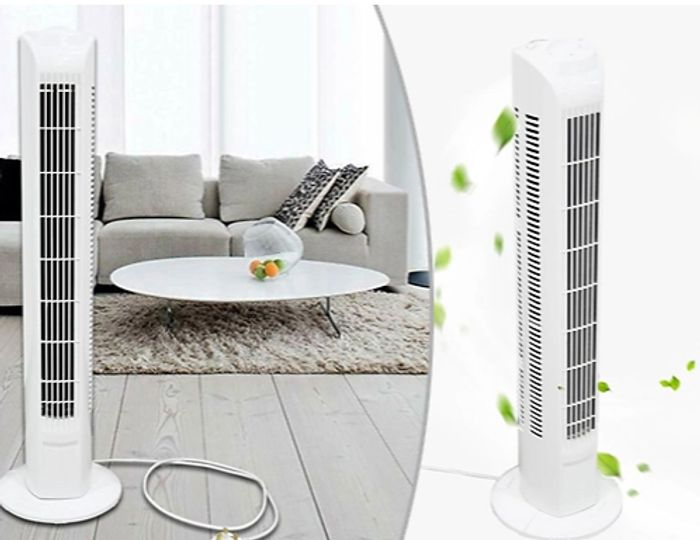 32 Inch 3 Speed Oscillating Tower Fan + EXTRA 10% Off