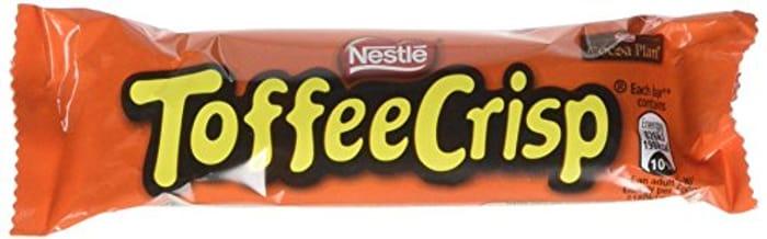 Toffee Crisp Chocolate, 38g (Pack of 24)