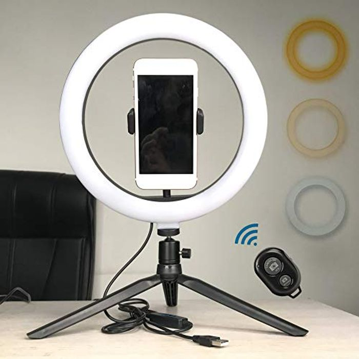 50% off Ring Light Tripod with Remote Control