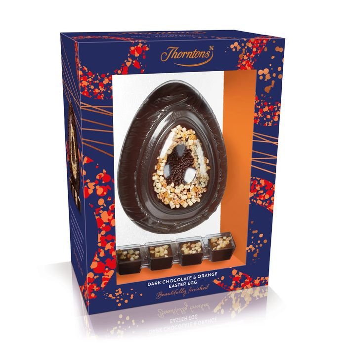 Dark Chocolate and Orange Easter Egg