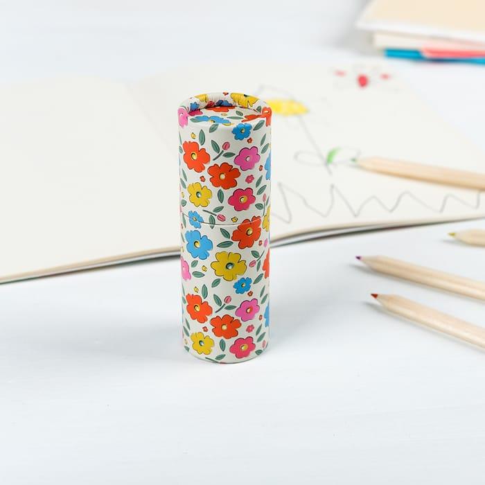 Floral Maze Colouring Pencils (Set of 12)