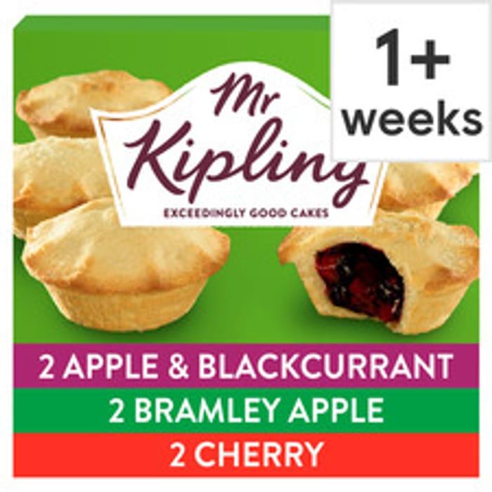 Mr Kipling Fruit Pie Selection 6 Pack