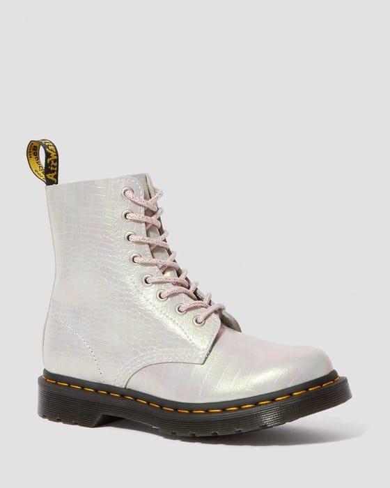 1460 Iridescent Croc Boots