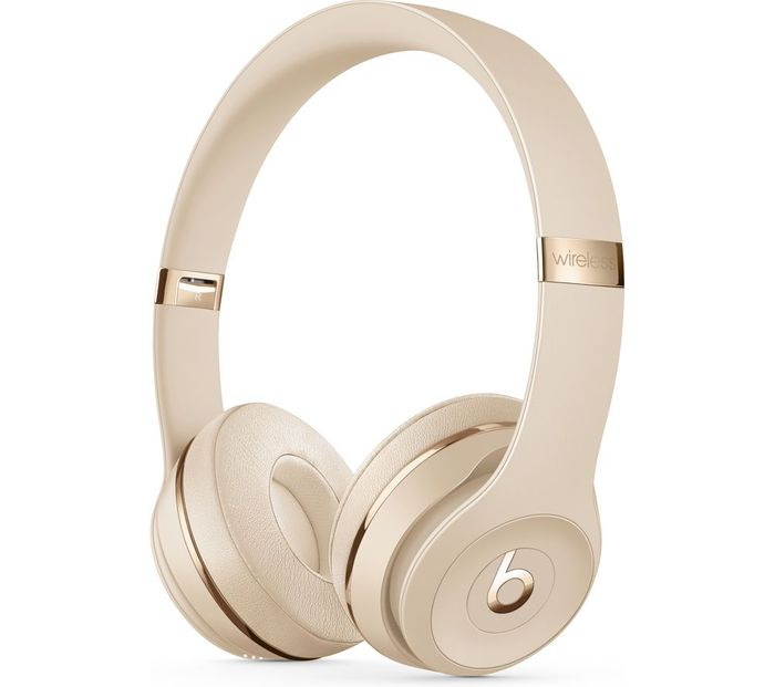 BEATS Solo 3 Wireless Bluetooth Headphones - Satin Gold