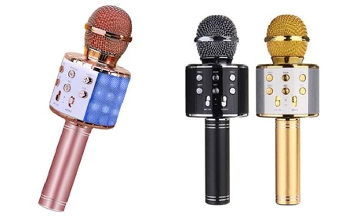 *SAVE £11* Bluetooth Karaoke Microphones