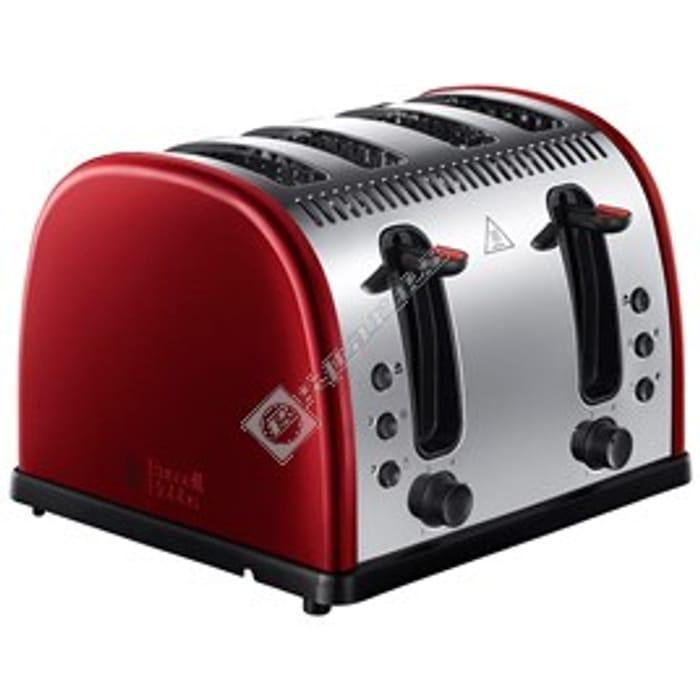 Russell Hobbs Legacy Metallic 4 Slice Toaster