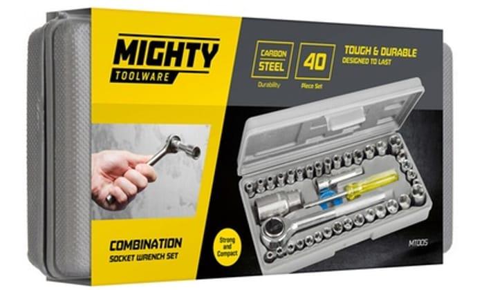 Best price! 40-Piece Socket Driver Set at Groupon