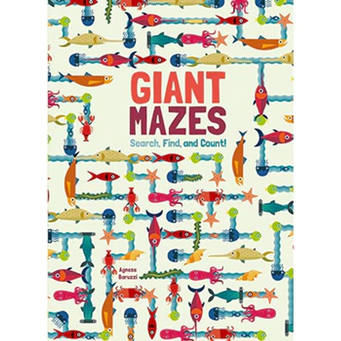 Giant Mazes - Search Find and Count