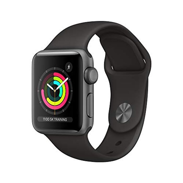 Apple Watch Series 3 (GPS, 38mm) - Space Grey Aluminum Case