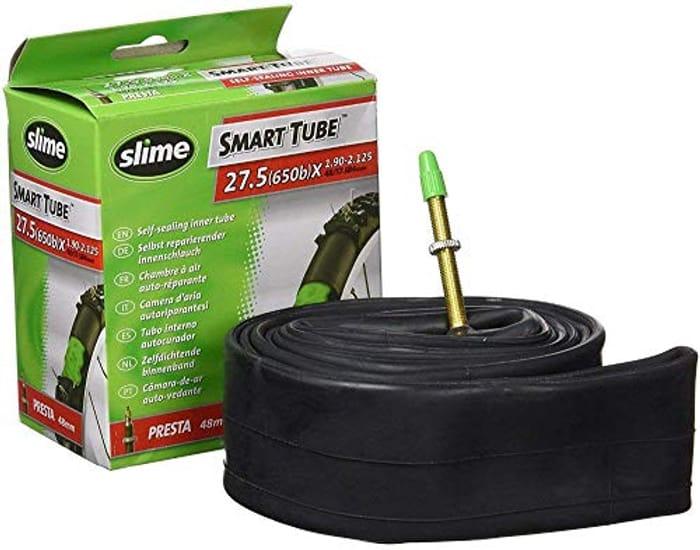 Slime Self-Sealing Inner Tube - 2 27.5 (650b)X 1.90-2.125 - Presta Valve