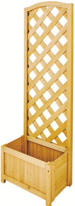 Lattice Natural Wooden Planter - Online Now & Instore from 4th June