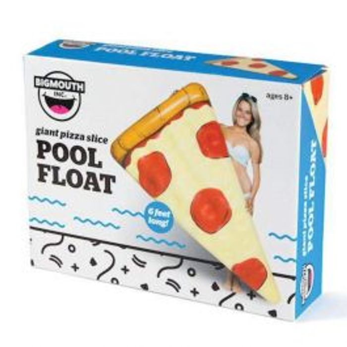 Bigmouth Inflatable Pizza Slice Pool Float