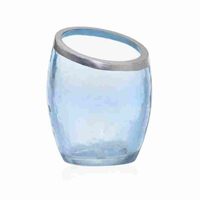 Cheap Yankee Candle Votive Holder Pearlescent Crackle Blue - Save £3!