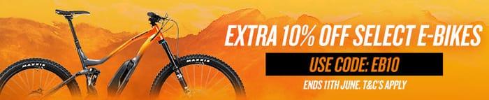 Extra 10% off Select E-Bike