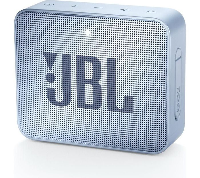 JBL GO2 Portable Bluetooth Speaker - Cyan