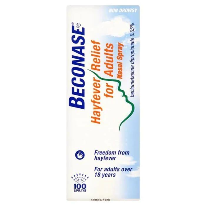 Beconase Hayfever Relief for Adults Nasal Spray 100 Sprays