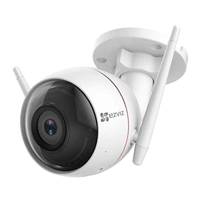 Outdoor Security Camera WiFi Surveillance, 30m Night Vision