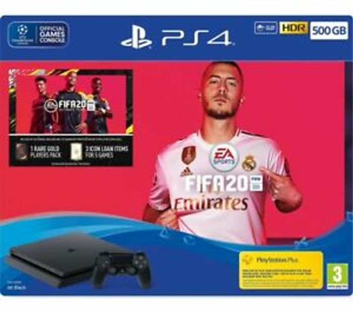 SONY PlayStation 4 with FIFA 20 - 500 GB Only £248.97