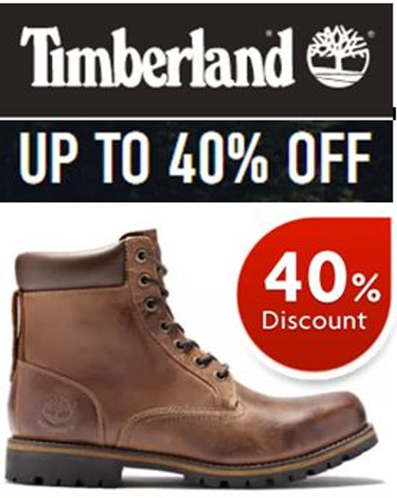 Timberland Sale - up to 40% off Mens, Womens, & Kids