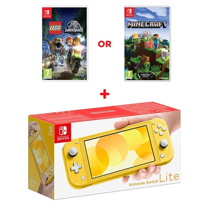 Nintendo Switch Lite Yellow & Select Game Only £219.99