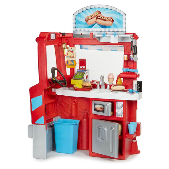 Cheap What's For Dinner? Little Tikes 2 in 1 Food Truck, reduced by £40!
