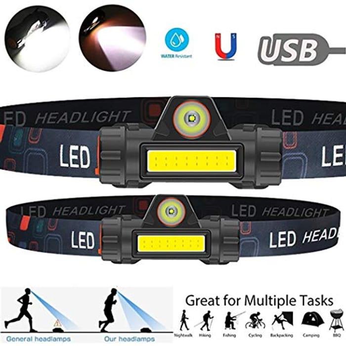 80% Off LED Work Headlight