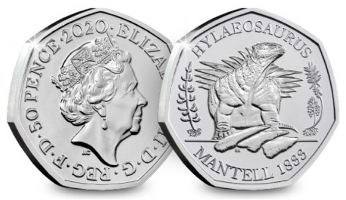 Cheap Dinosaur 50p Coin JUST Only £4.50 (+P&p)