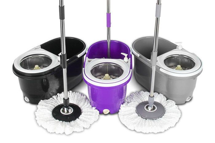 Clever Cleaning Kitchen Mop or Mop Heads - 3 Colours!