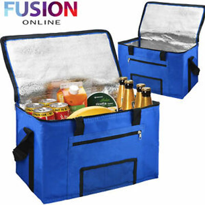 28 Litre Extra Large Cool Bag for Picnics & Camping - £6.99 Delivered