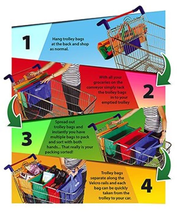 Easy Pack Trolley Bags - Large