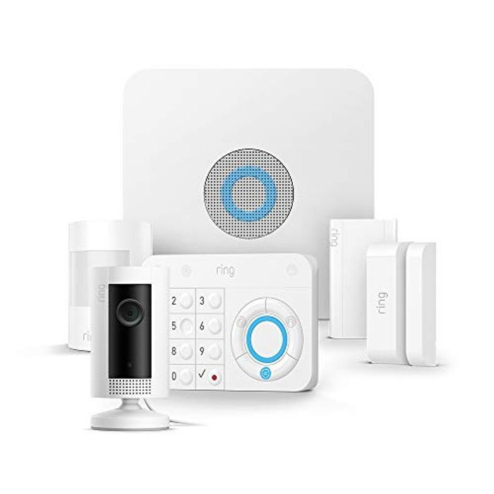 Ring Alarm 5 Piece Kit with Ring Indoor Cam
