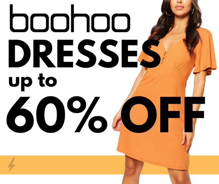 boohoo Up To 60% Off Everything + Summer Dresses From £7.50