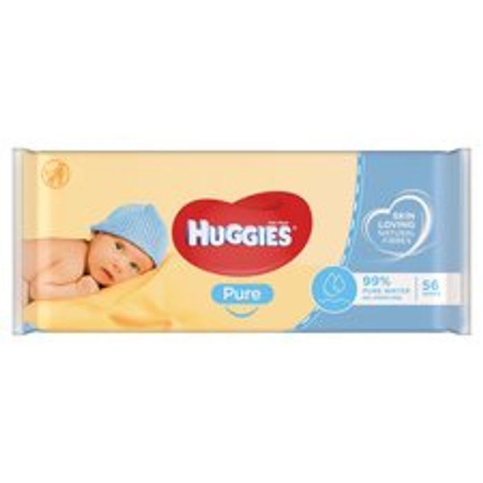 Huggies Pure Baby Wipes £1 Each Or 2 Packs For 50p / 25p Each