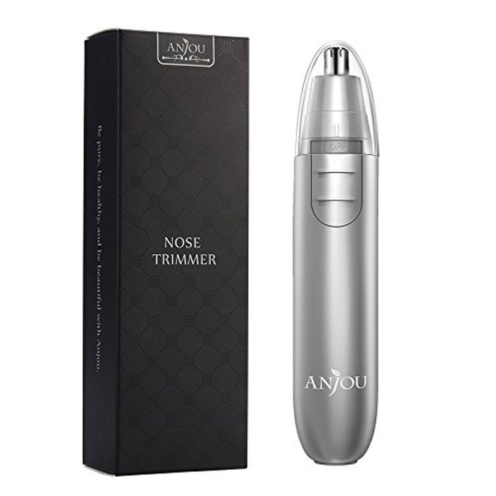 Nose Trimmer Anjou Ear Hair Trimmer Battery Operated Use Code 6HGP4E5M